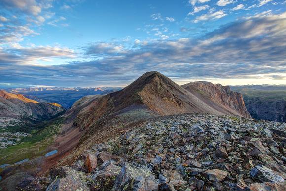 Dawn at Peak Three