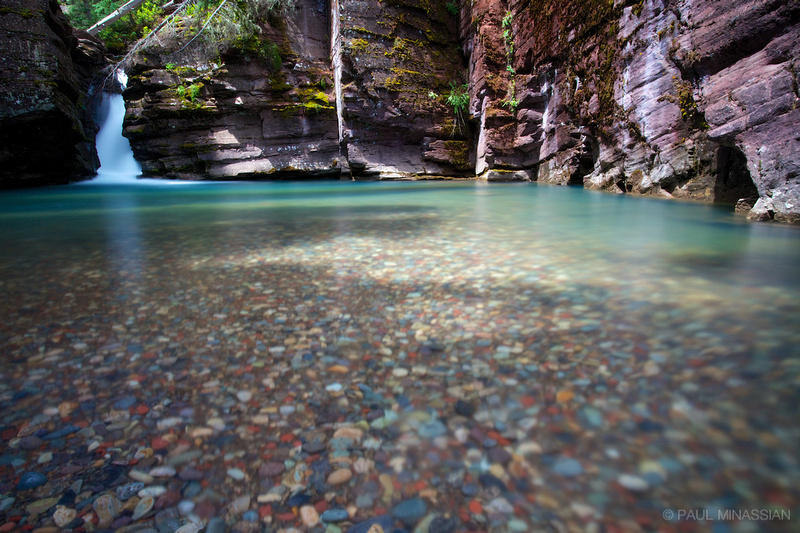 Pool on South Fork Mineral Creek