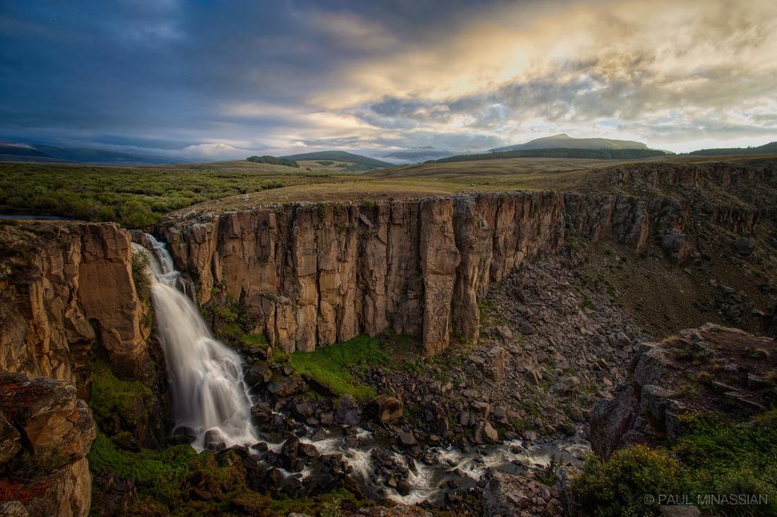 Dawn at North Clear Creek Falls