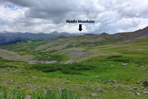 Stony Pass looking southwest
