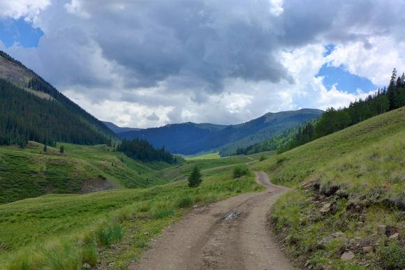 road up Bear Creek (to Beartown)