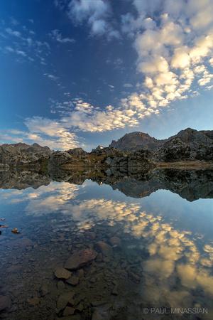 Morning Sky at Island Lake